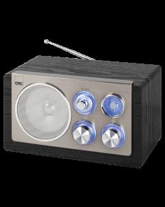 CTC Design Radio MR 7027 grau/edelstahl