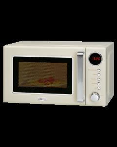Clatronic Retro-Mikrowelle mit Grill MWG 790 beige
