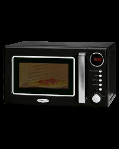 Clatronic Retro-Mikrowelle mit Grill MWG 790 schwarz