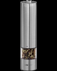 Clatronic Elektrische Pfeffer-/Salzmühle PSM 3004 N edelstahl