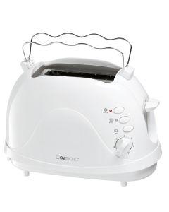 Clatronic Toaster 2 Scheiben TA 3565 weiß