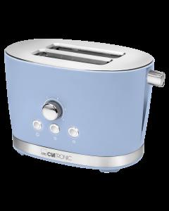 Clatronic Toaster 2 Scheiben TA 3690 blau