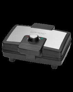 Clatronic Waffelautomat WA 3606 schwarz/edelstahl